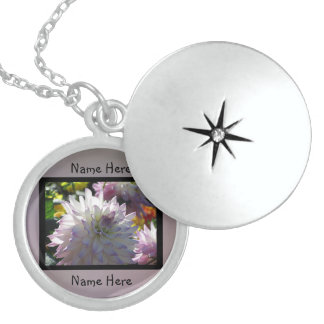 White Flower Sterling Silver Necklace