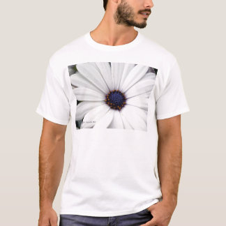 White flower with blue center T-Shirt