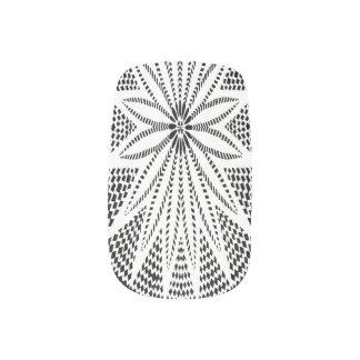 White Flower Wycinanki Minx Nails Minx® Nail Art