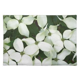 White Flowering Dogwood Place Mat