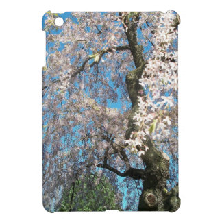 White, Flowering Tree iPad Mini Covers