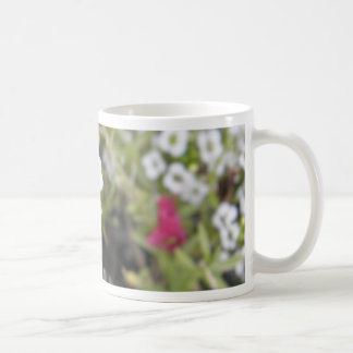 White Flowers 3d mug