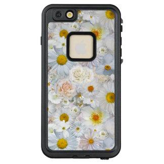 White Flowers Bouquet Floral Wedding Bridal Spring LifeProof FRĒ iPhone 6/6s Plus Case