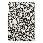 White flowers iPad mini cases