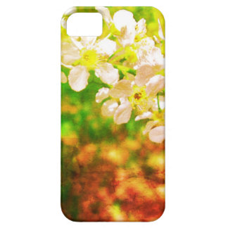 White flowers iPhone5 iPhone SE/5/5s Case