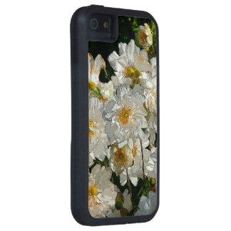 WHITE FLOWERS (PHOTOG./DIGITAL MANIP) iPhone SE/5/5s CASE