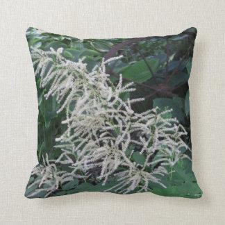White Flowers Pillow
