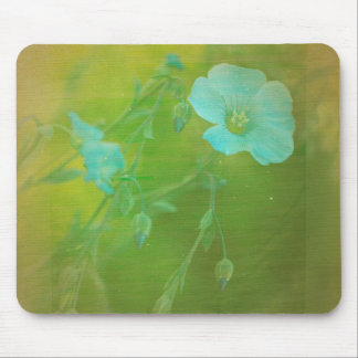 White Flowers VI Mouse Pad