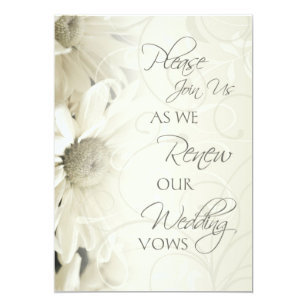 Marriage Vows Renewal Invitations Zazzle