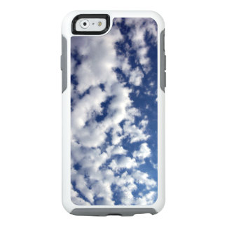 White Fluffy Clouds On Blue Sky OtterBox iPhone 6/6s Case