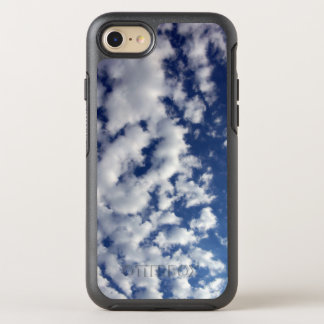 White Fluffy Clouds On Blue Sky OtterBox Symmetry iPhone 7 Case