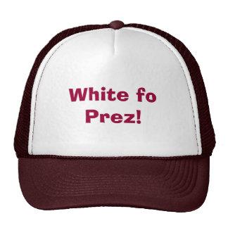White fo Prez! Trucker Hat