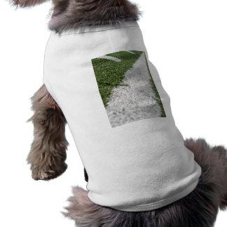 White Football Line Shirt