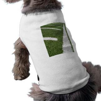 White Football Lines T-Shirt