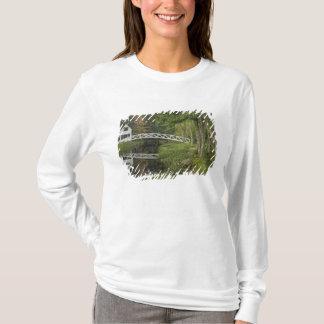 White footbridge, Somesville, Mount Desert T-Shirt