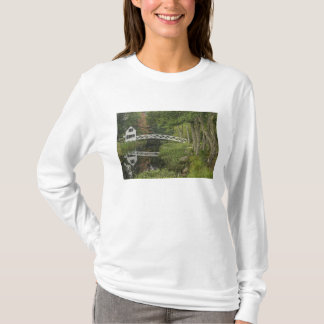 White footbridge, Somesville, Mount Desert T-Shirt