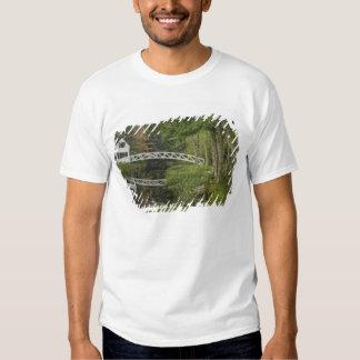 White footbridge, Somesville, Mount Desert Tee Shirt