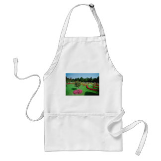 White Formal gardens, The Palmery, Vienna flowers Aprons