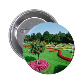 White Formal gardens, The Palmery, Vienna flowers Buttons