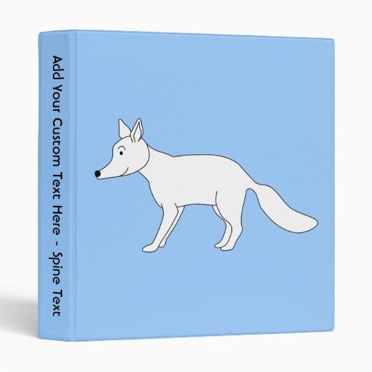 White Fox. Binder