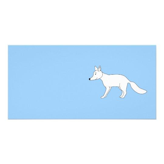 White Fox. Card