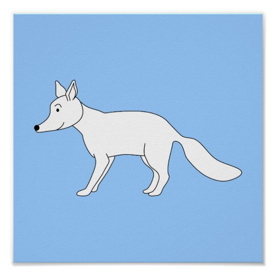 White Fox. Poster