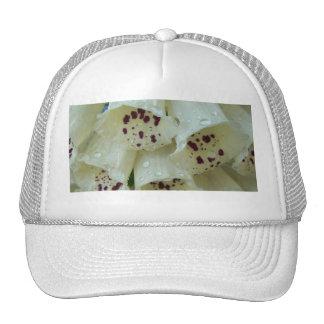 White Foxgloves Hat