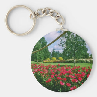 White Fragrant Cloud, St. Albans, England flowers Keychain