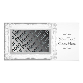 White Frame Photo Card