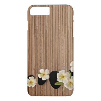 White Frangipani Flowers iPhone 8 Plus/7 Plus Case