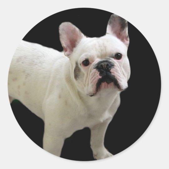White French Bulldog stickers