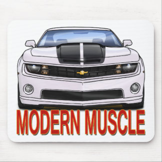 WHITE_FRONT_CAMARO.png Mouse Pad