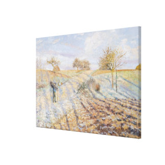 White Frost, 1873 Canvas Print