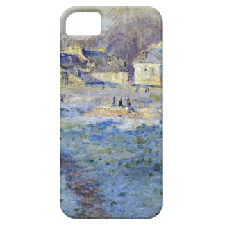 White Frost by Claude Monet iPhone SE/5/5s Case