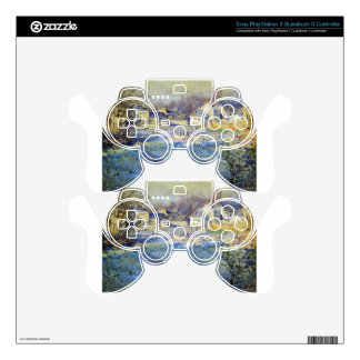 White Frost by Claude Monet PS3 Controller Decal