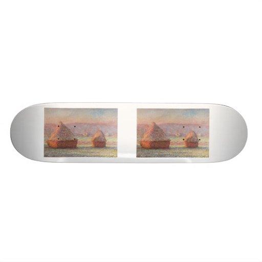 White Frost Sunrise (1889) Custom Skateboard