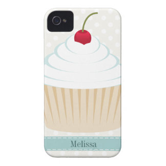 White Frosted Cupcake iPhone Case