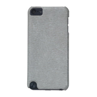 White Fuzzy Design iPod Touch 5g, Barely There iPod Touch (5th Generation) Cover