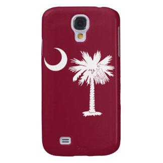 White/Gamecocks Garnet Palmetto Moon iPhone 3G/3GS Galaxy S4 Case