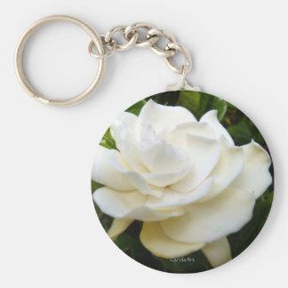 White Gardenia Keychains