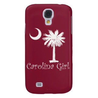 White/Garnet Carolina Girl iPhone 3G/3GS Case