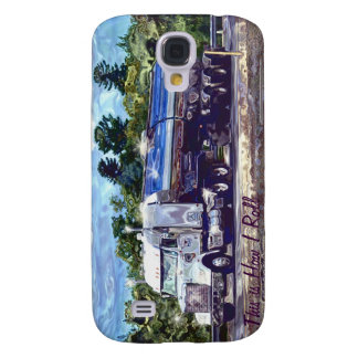 WHITE GAS TANKER BIG RIG TRUCKERS iPhone 3 Case