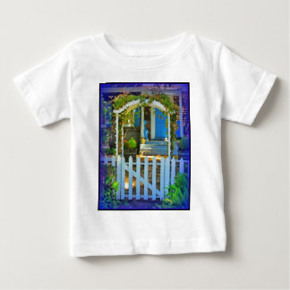 White Gate Picket Fence Baby T-Shirt