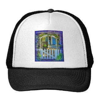 White Gate Picket Fence Trucker Hats