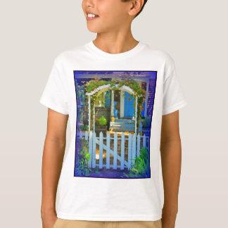 White Gate Picket Fence T-Shirt