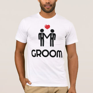 White Gay Marriage Shirt Groom For Men