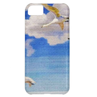 White Geese in Flight iPhone 5C Cases