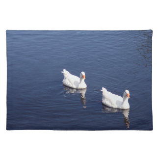 White Geese Placemats