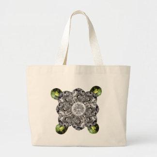 White Gem Flower Bags
