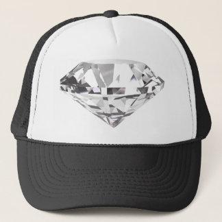 White Gem Trucker Hat